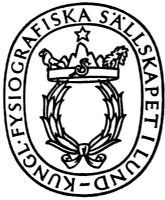 The Royal Physiographic Society of Lund